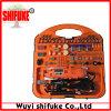 Инструментальный ящик електричюеского инструмента DIY Китая 183PC роторный