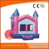 Aufblasbarer rosafarbener Ziegelstein-federnd Schlösser T2-109