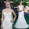 Классическая задняя часть кнопки lhbim доработала линию платье венчания поезда стреловидности