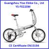 Vélo 2016 électrique pliable de la Turquie 20inch avec le moteur 36V 250W de vitesse de Burhsless