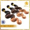 8A grado 100% de la Virgen del pelo onda del cuerpo de la calidad estupenda T Tono de color de pelo (TFH-NL55)