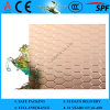 3-8mm Bronze Beehive Patterned Figured Glass com CE & ISO9001
