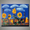 Самомоднейшая картина маслом Sunflower на Canvas (KLSF-0001)