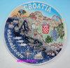 陶磁器のプラクのクロアチアのツーリスト