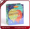 Bolsos impresos impresión decorativa del regalo del holograma de las bolsas de papel del cumpleaños con la impresión