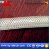 Tuyau tressé de vente de fibre chaude de PVC