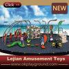 Interessanter Zirkus-Clown-Blick-steigendes Gerät