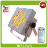 Draadloze DMX RGBWA Op batterijen LED PAR met de Afstandsbediening van IRL