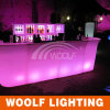 Moderno diseño Hotel Club Glow LED Bar Counters