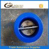 Válvula de verificação da placa dobro de ferro de molde