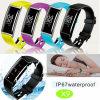IP67 imperméabilisent le bracelet intelligent de Bluetooth avec la fréquence cardiaque (X9)