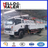 Sinotruk 4X2 경트럭 기중기 8ton 트럭 기중기