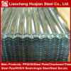 Chapas de aço onduladas galvanizadas com revestimento de zinco 30 Grms/M2