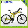 Magnésium Alloy Wheel Electric Folding Bicycle 36V250W
