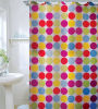 Способ Shower Curtain 100%Poly Waterproof Shower Curtain (JY-521)