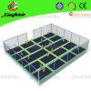 Size grande Indoor Trampoline com Safety Net (3021c)