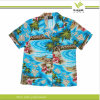 Camicia hawaiana del ragazzo di modo stampato abitudine (KY-S005)