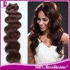 Уток Weave человеческих волос объемной волны бразильский (GP-BBW)