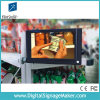 Affissione a cristalli liquidi dello schermo di posizione del supporto della mensola da 7 pollici che fa pubblicità al giocatore con il sensore di movimento