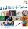 Elektrisches und Electronic Wire Extruder Line PVC Extrusion Machine