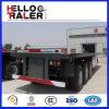 3 remorque de camion de conteneur de lit plat des essieux 40FT à vendre