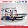 Kraan van de Brug van de Boot van Weihua de Opheffende, de Mobiele Kraan van het Hijstoestel van de Boot, de Machine van de Behandeling van het Jacht