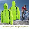 Куртка передачи тепла сбывания Honorapparel 2016 горячим Анти--UV Breathable подгонянная печатание задействуя