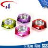 Bunte Hexagon-Form Tealight Glaskerze-Halter (CHZ8026)
