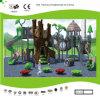 Campo da gioco per bambini della foresta di Kaiqi di tema di medie dimensioni della capanna sugli'alberi (KQ30015B)