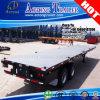 Тележка трейлера 2 платформ сертификата 40ft МНОГОТОЧИЯ Axles для Мексики