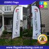 Hotsale 100%年ポリエステル表示羽の旗、飛行フラグ、風のフラグの旗の