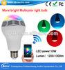 Hoogste Verkopende Producten in LEIDENE Alibab de Draagbare Bluetooth Spreker van de Lamp voor APP Slim Licht
