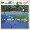 Suelo del campo de tenis de la alta calidad de Itf del caucho sintetizado/material superficial