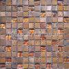 Плитка медной мозаики смешанная стеклянная для кухни Backsplash A6YBG018