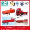 무거운 Truck 3 Axles Cargo Truck Trailer 30t 60t Side Wall Semi Trailer