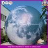 Bal van de Maan van de douane de Opblaasbare, Opblaasbare Maan, de Opblaasbare Lichte Ballon van de Maan