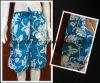 Shorts impressos cheios da placa do Swimwear do Beachwear para o homem/mulheres