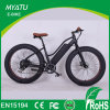 Fat Tire Pedal Assist Motorized Beach Cruiser Bicicleta Elétrica