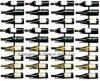 Le véritable vin de support de mur de fabrications étire la bouteille des prises 9 robuste