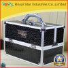 Laptop van de Legering van het Aluminium van de krokodil Pu de Doos van de Samenstelling van de Spijker van de Schoonheid van Juwelen
