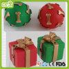 Brinquedo da esfera do Natal do cão de animal de estimação