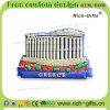 Ricordo turistico personalizzato Grecia (RC-GR) dei regali della decorazione del PVC dei magneti promozionali del frigorifero