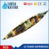 Nuevo diseño para el kajak del mar del pescador/hecho en barco de pesca de los kajaks de China /Cheap