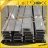 大きいガラスが付いている引き戸のための熱い販売6063t5アルミニウムプロフィール