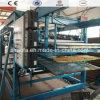 Roulis de panneau sandwich de laines de roche formant la ligne de production à la machine