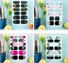 Стикеры ногтя стикеров искусствоа ногтя симпатичной этикеты конструкции водоустойчивые