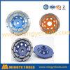 O diamante das cores utiliza ferramentas a roda de moedura dobro da fileira para a moedura do assoalho