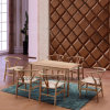 현대 재 목제 대중음식점 식탁 및 의자 (SP-CT721)