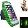 卸し売り腕章の箱の電話のための多彩なLycra LEDの点滅の安全腕章