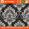 Papier peint noir et blanc Guangzhou de modèle de damassé